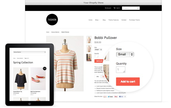 how to promote shopify Ecommerce Developement